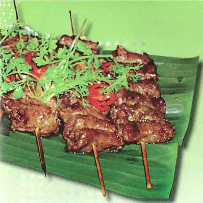 Cooking Vietnam Cuisine GRILLED BEEF - Northern style