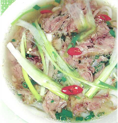 Cooking Vietnam Cusine BEEF PH0 Northern dish